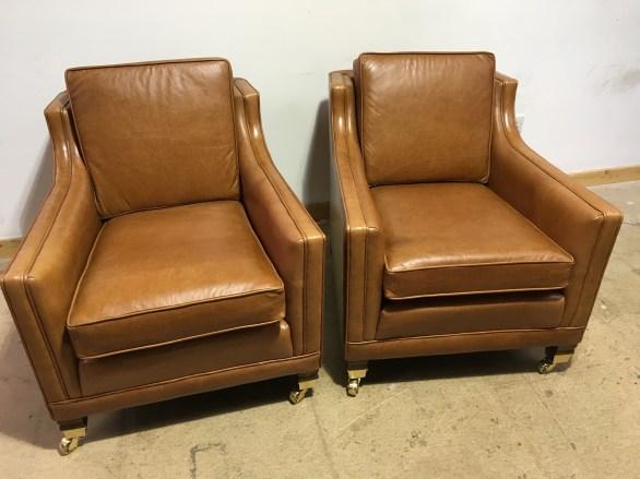 Duresta Trafalgar armchairs - pair