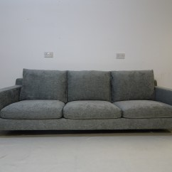 Kingcome Sofa Sale Designer Sofas Direct Items For Krs Upholstery Bb Italia Harry 3 Seater In Grey Woven Fabric 2600 00