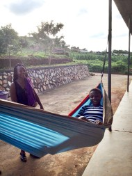 The students who were brave enough to try my weird looking hammock really enjoyed it.