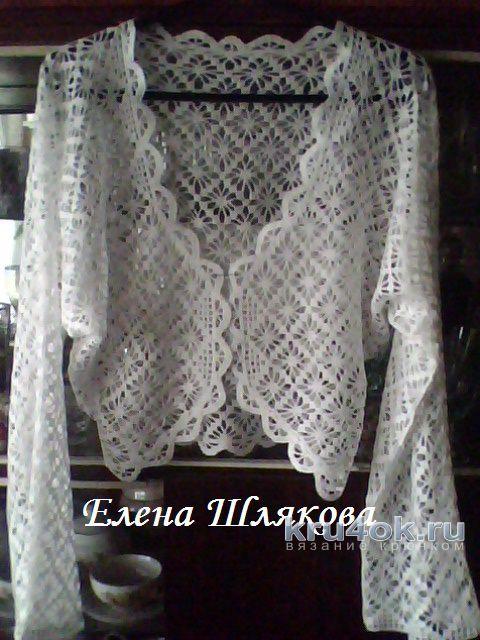 Féminin Bolero Crochet
