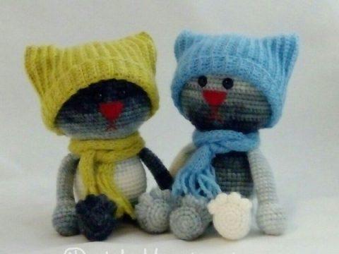 কিভাবে একটি ছোট বিড়াল crochet টাই