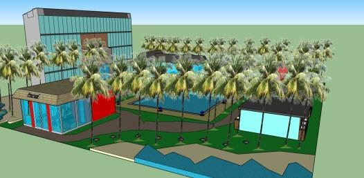 โครงงานกลุ่ม Beachfront accommodation1