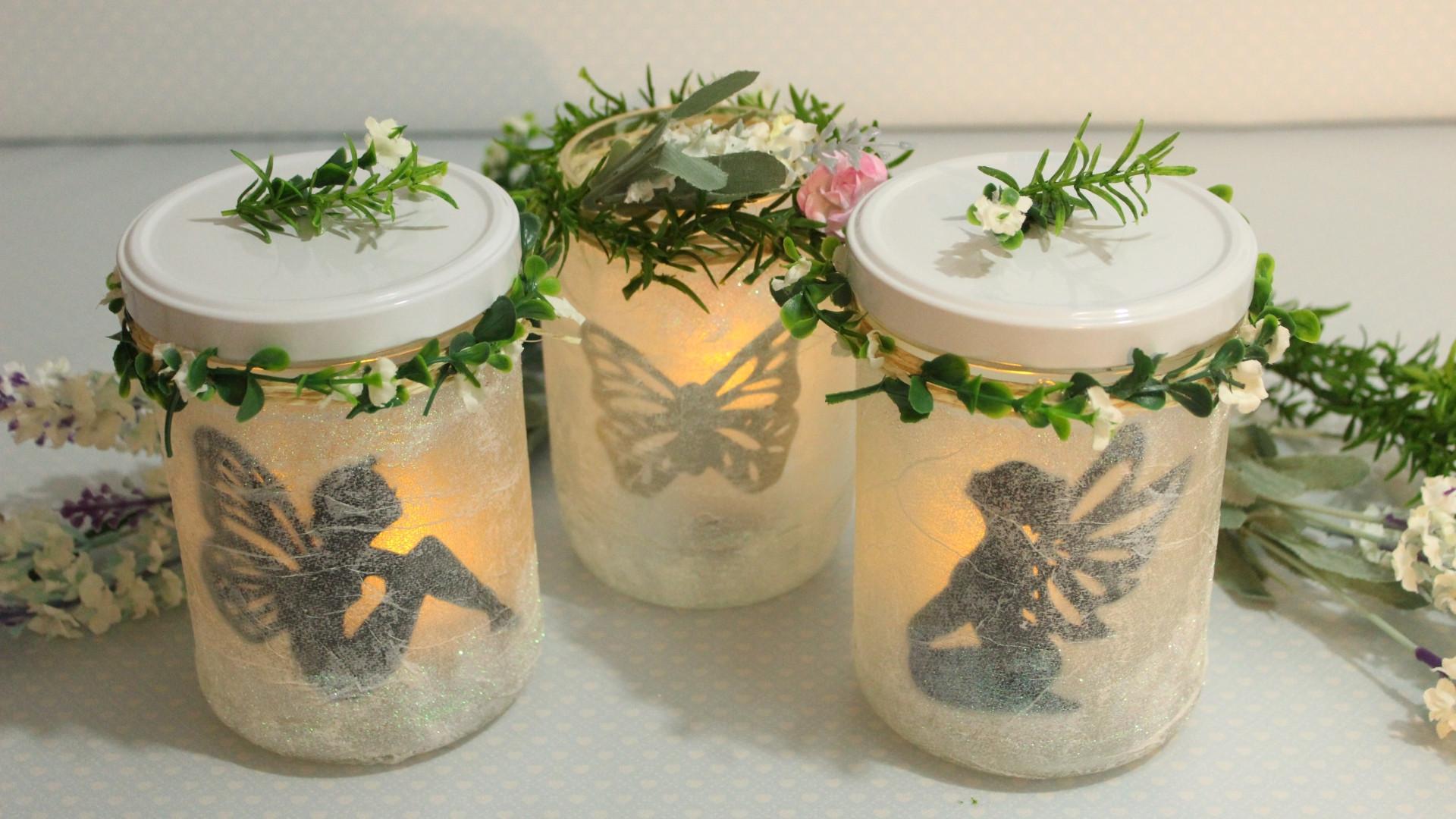 DIY Leuchtende DekoGlser  FeenLaternen  Fairy Jars  Fairy Lantern  KrmelPlanet