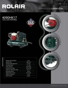 Rolair Gas Portable