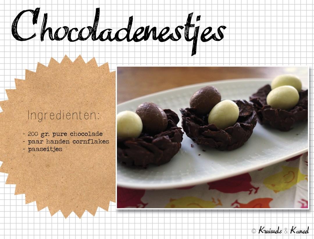 chocoladenestjes