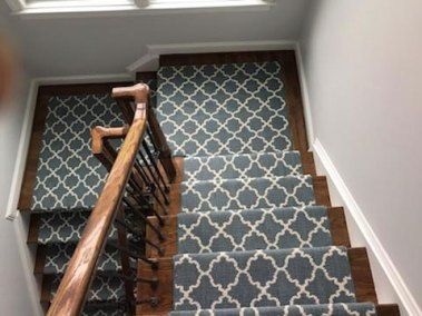 10 27 1 - New Stairs and Carpeting