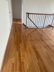 11 45 - Pictures of New Sand-Finish Job In Northern Virginia and New Carpet Installation In McLean 🙂
