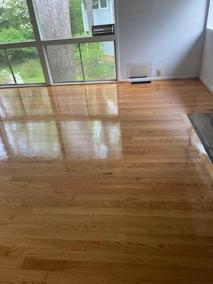 12 34 - Pictures of New Sand-Finish Job In Northern Virginia and New Carpet Installation In McLean 🙂