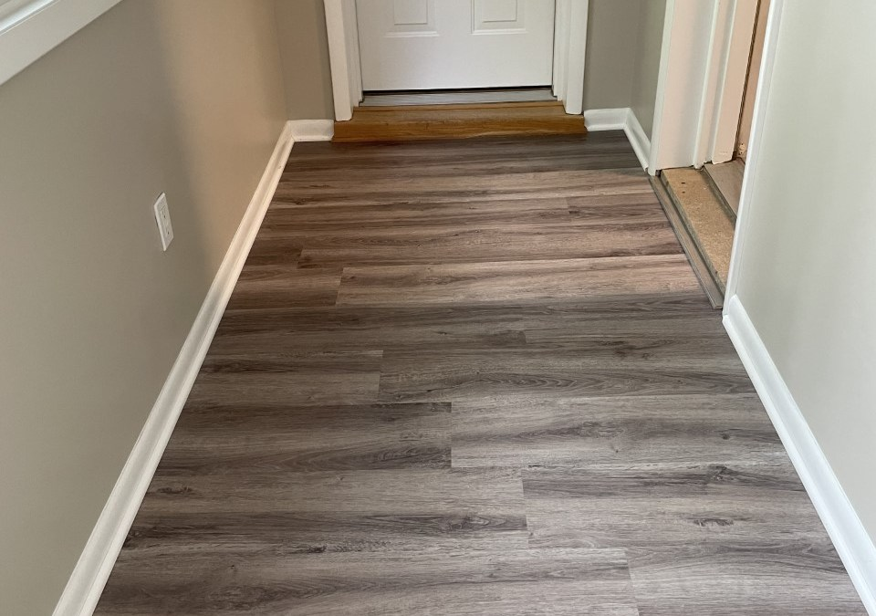 Beautiful New Tile, LVP and Carpet Installations
