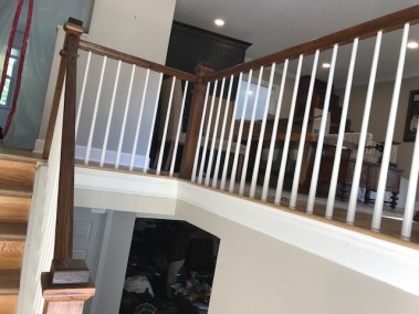 13 12 1 - Happy Clients Are The #1 Priority, Beautiful New Hardwood And Stained Rails/Stairs