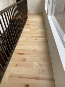 13 37 - Happy Client And Beautiful New Hardwood Installation In Alexandria