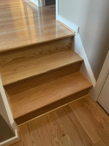 14 11 1 - Happy Clients And Beautiful Work, Beautiful New Hardwood And Runner Installations