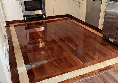 Happy Client And More Beautiful New Floors