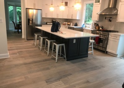 Staying Busy Into Summer 😃👍☀️ Beautiful New Hardwood Installation In Fairfax 🙂