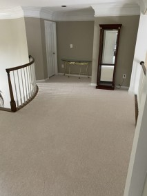 16 10 - Pictures of New Sand-Finish Job In Northern Virginia and New Carpet Installation In McLean 🙂