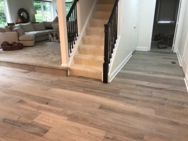 17 1 1 - Staying Busy Into Summer 😃👍☀️ Beautiful New Hardwood Installation In Fairfax 🙂