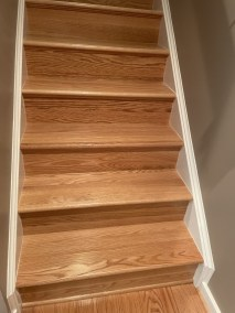 18 11 1 - Happy Clients And Beautiful Work, Beautiful New Hardwood And Runner Installations