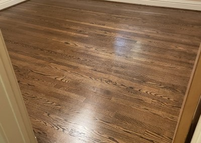 Staying Busy In The Dog Days Of Summer 😄🐶☀️👍  Beautiful New Hardwood And Sand-Finish Jobs In Northern Virginia 👏
