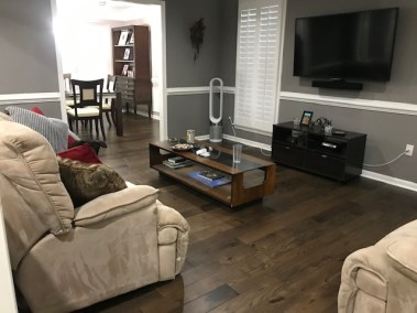 20 - New Flooring: Before & After