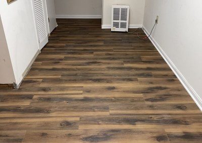 Happy Client And Some Beautiful New Flooring Installations