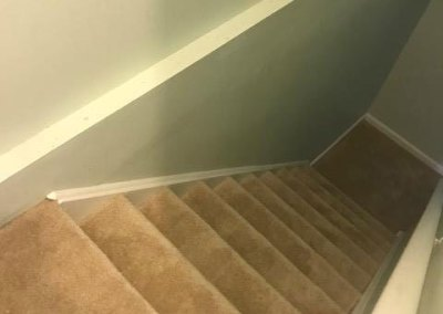 New Carpet on Stairs