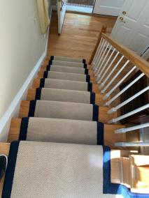 8 1 11 - New Stairs and Kitchen Flooring
