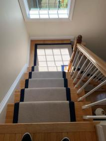 8 1 31 - New Stairs and Kitchen Flooring