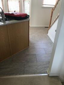 8 1 61 - New Stairs and Kitchen Flooring