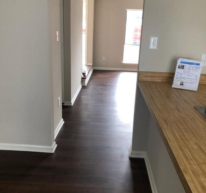 New Hardwood Flooring and Stairs