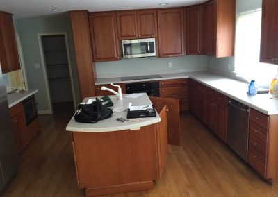 Remodeled Kitchen in Bethesda – Before