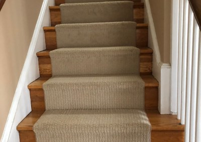 New Carpeting and Stairs