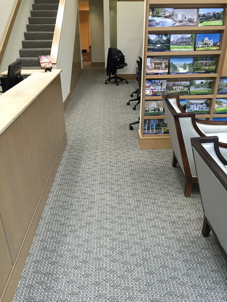 New commercial carpet for TTR Sotheby's International Realty