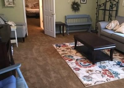 Beautiful New Carpet for the Walsh Family
