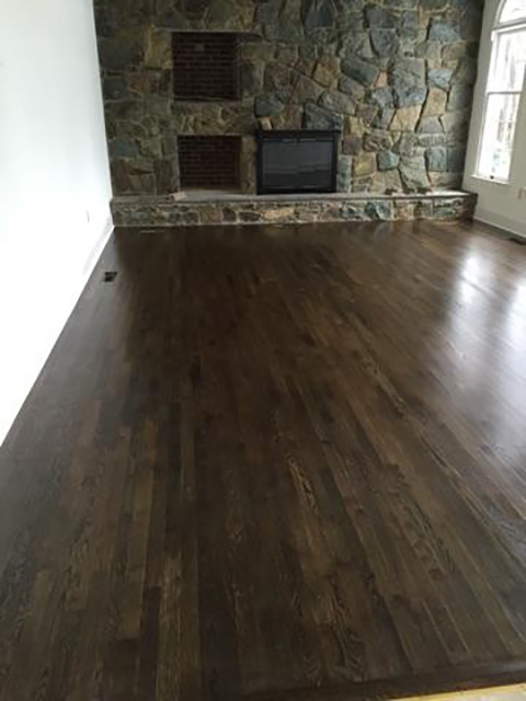 Beautiful new hardwood job!!!