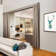 curtains - Creating Division in Open Floor Plans