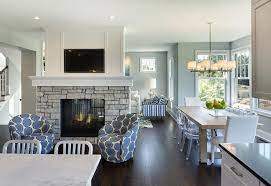 fireplace - Creating Division in Open Floor Plans (part 2)