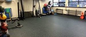 gym rubber 300x131 - Most Popular Home Gym Flooring Choices