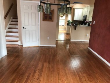 living space flooring - New Hard Wood Staircase and Flooring