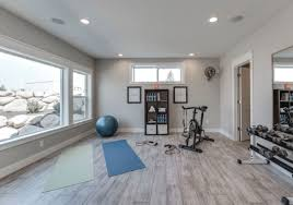 wood gym floor - Most Popular Home Gym Flooring Choices