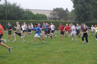 At Gladstone Park Run