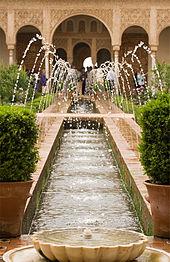Air mancur di Alhambra