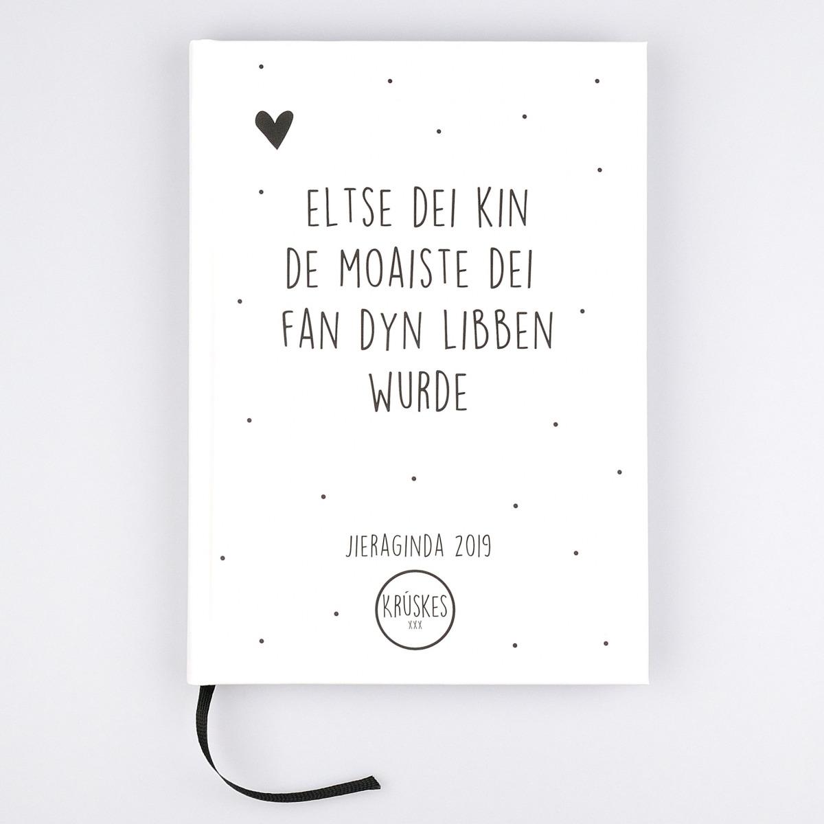 Friese Agenda  Zwartwit  A5  Fryske Jieraginda