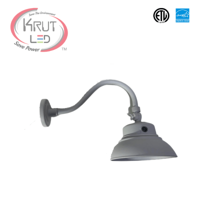 LED Gooseneck Light with photocell
