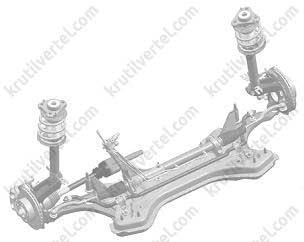 Снятие и установка передней подвески Fiat Ducato