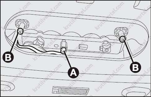 Fiat Linea с 2007 года, Замена ламп инструкция онлайн