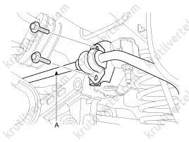 Kia Sportage 3 с 2010 года, задняя подвеска инструкция онлайн