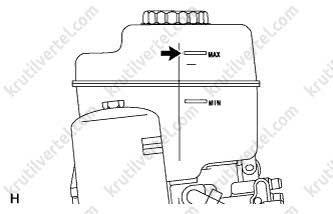 Lexus GX 460, замена тормозной жидкости инструкция онлайн