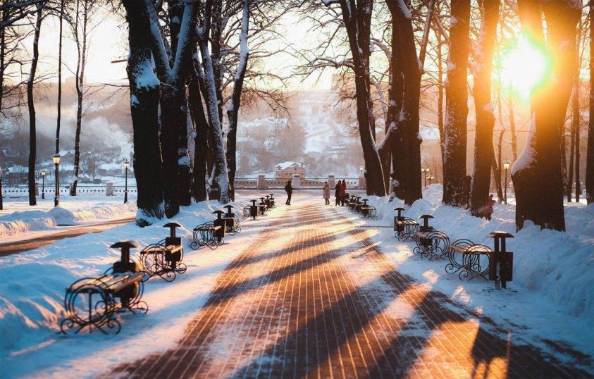 В каких регионах России ждать тёплую погоду в декабре