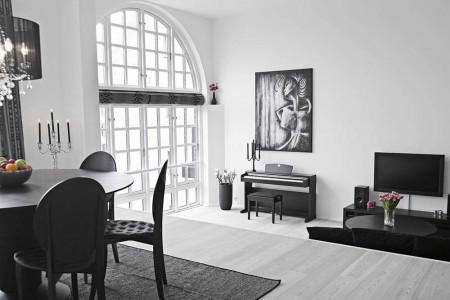 pisos de concreto sala de estar Lo Que Combina El Piso Negro Piso Oscuro O Claro Cmo