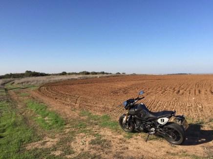 שדה, ימאהה, פרופיל, נוף, כביש, MT